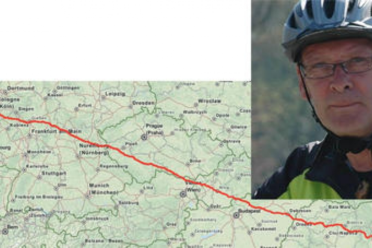 Gerard fiets route